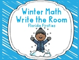 Winter Math Write the room