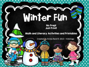 Winter Math and Literacy Activities / Winter Math and Literacy Centers