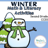 Winter Math and Literacy Activities - Second Grade