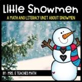 Winter Math and Literacy Activities for Preschool, Pre-K,