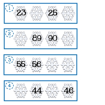 Winter Math and Literacy Activity Pack