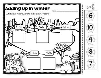 Winter Math and Literacy Bundle