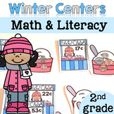 Winter Math and Literacy Centers {2nd Grade}