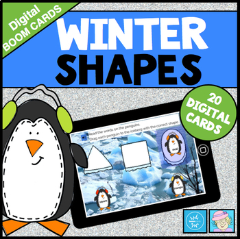 Winter Centers for Kindergarten with BOOM CARDS