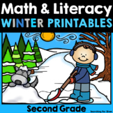Winter Math and Literacy No-Prep {2nd Grade}
