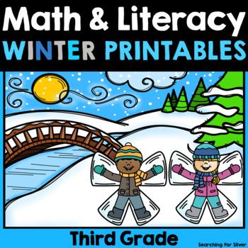 Winter Math and Literacy No-Prep {Third Grade}