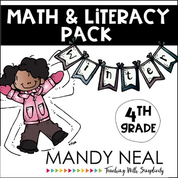 Winter Math and Literacy Pack (4th Grade)