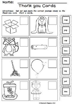Winter Math and Literacy Pack for Kindergarten