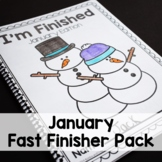 Winter Math and Literacy Printables-No Prep!