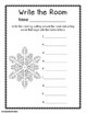 Winter Math and Literacy Stations