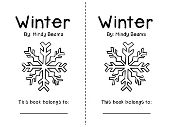 Math and Literacy Unit - Common Core Aligned - Winter Themed
