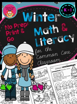 Winter Math and Literacy for the Common Core Classroom