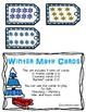 Winter Math cards - 10 frames, counting and numbers