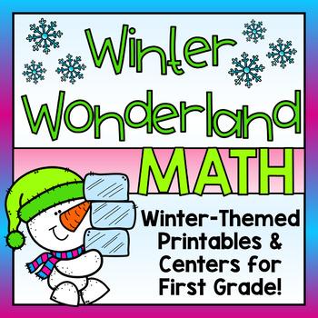 Winter Math for First Grade