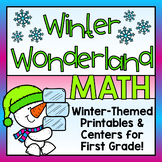 Winter Math for First Grade