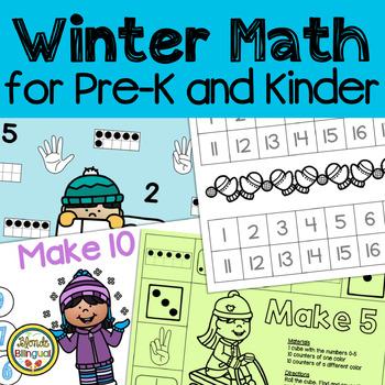 Winter Math for Pre-K and Kindergarten