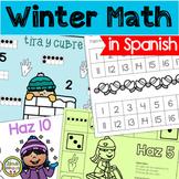 Winter Math for Pre-K and Kindergarten in Spanish