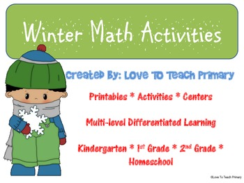 Winter Math FREE