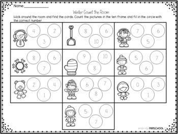 Winter Math on the Go!