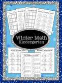 Winter Math - sequencing, missing number, counting on, & ten frames