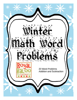 Winter Math up to 20
