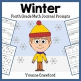 Winter Math Journal Prompts (4th grade) - Common Core