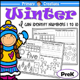 Winter PreK Maths Activities