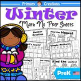 Winter PreK Maths Activities