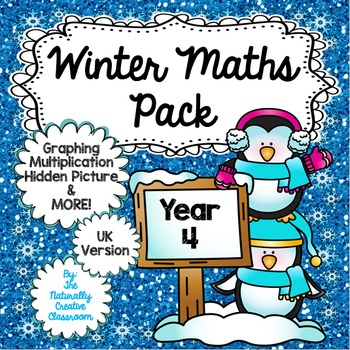 Winter Maths Pack for Year 4