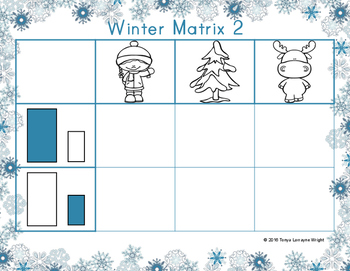 Winter Matrix Size and Shape Sort