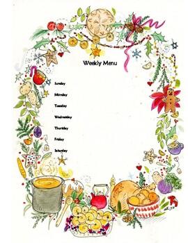 Winter Meal Planner