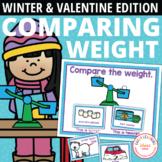 Winter Measurement Activities for Preschool and Pre-K   Comparing Weights