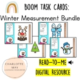 Winter Measurement Bundle: Boom Task Cards!