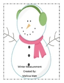Winter Measurement Math Center