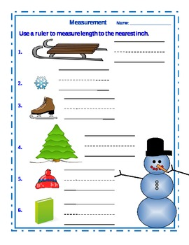 Winter Measurement in Inches
