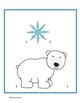 Measuring Cards Winter Theme--No prep center