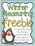 Winter Measuring Freebie