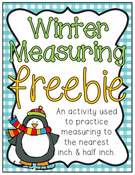 Winter Measuring Freebie