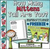 Winter Measuring FREEBIE --- How Many Mittens Tall Are You?