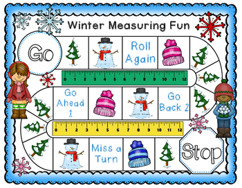 Measuring Inches Game, Worksheets, & Anchor Chart