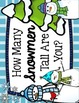 Winter / Christmas Measuring - Snowman Measuring Palooza -