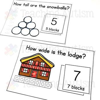 Winter Measuring Task Cards