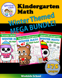 Winter Mega BUNDLE: Kindergarten Math {Westside}