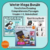 Winter Mega Bundle: Reading Comprehension Passage Mega Pack