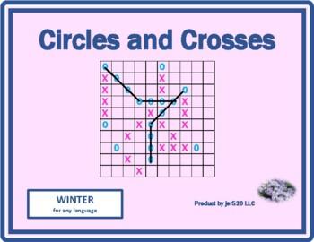 Winter Mega Connect 4 game