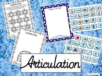 Winter Mega Pack- Language, Social skills, Articulation