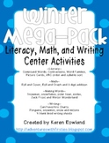 Winter Mega-Pack! Literacy, Math, and Writing Activities!