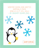 Winter Mega Pack - Arctic Animals and Winter Clothes