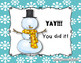 Winter Melodies - A stick to staff notation game for practicing sol mi la