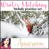 Winter Melody Matching Worksheets (printable & iPad ready!)